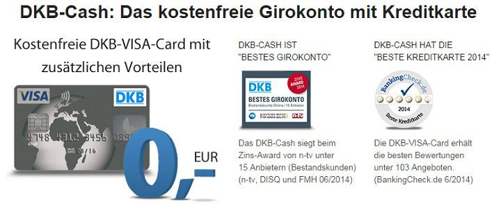 Kostenloses DKB Girokonto