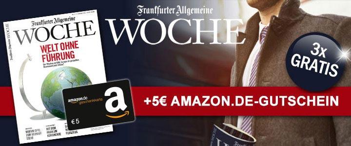 Frankfurter Allgemeine Woche Schnäppchen