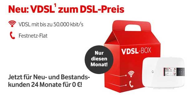Vodafone DSL Anschluss