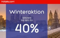 Hotels.com Winter Sale