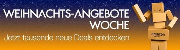Amazon Weihnachtsangebote Woche