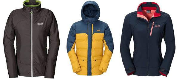 Winterjacken damen sale jack wolfskin