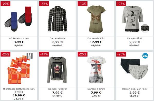 NKD Sale Produkte