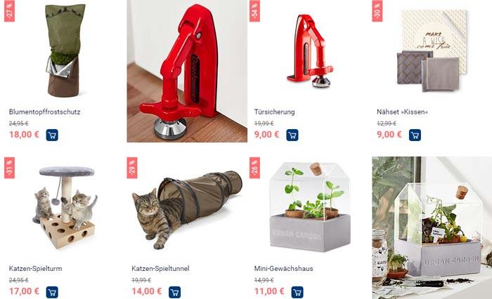 Tchibo Winter Sale Kategorie Wohnen