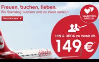 AirBerlin Valentins-Special
