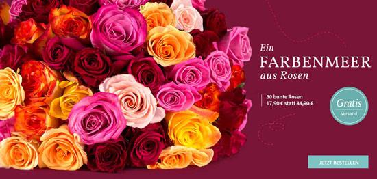 30 rosen online verschicken f r nur 17 90 bei miflora. Black Bedroom Furniture Sets. Home Design Ideas