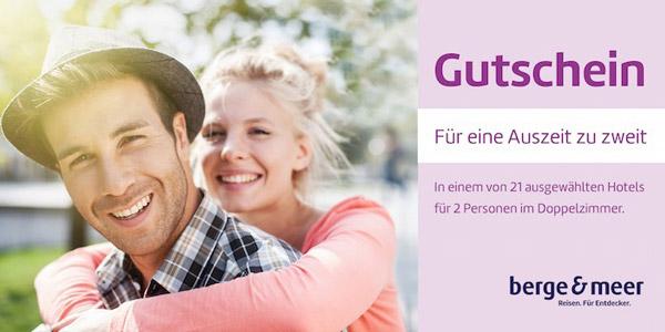 Berge & Meer Hotel Gutschein