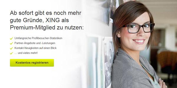 Xing Premium Mitgliedschaft