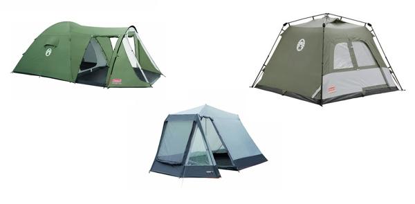 Rabatt auf Zelte