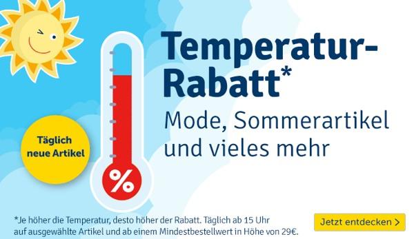 myToys Temperatur-Rabatt