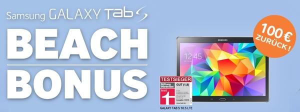 Samsung Galaxy Tab S Beach Bonus