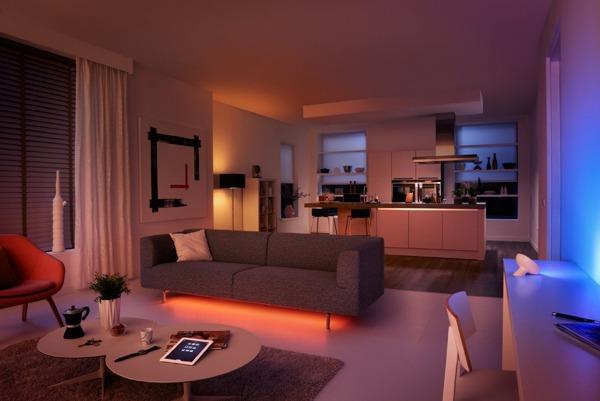 Philips Hue Wohnung