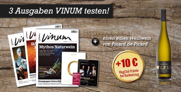 Vinum Weinmagazin