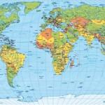 Kostenlose Weltkarte (138 x 98 cm) vom BMZ