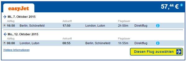CheapTickets Berlin-London