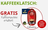Gratis Cafissimo Kaffeemaschine