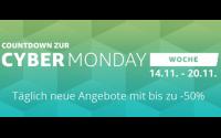 Amazon Cyber Monday Countdown Woche 2016