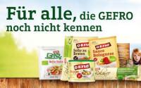 Gefro Probierpaket kostenlos