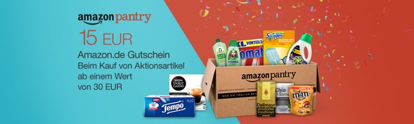 Amazon Pantry Vorratsbox