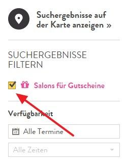 Salonmeister Gutscheine