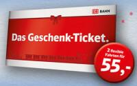 Deutsche Bahn Geschenk-Ticket