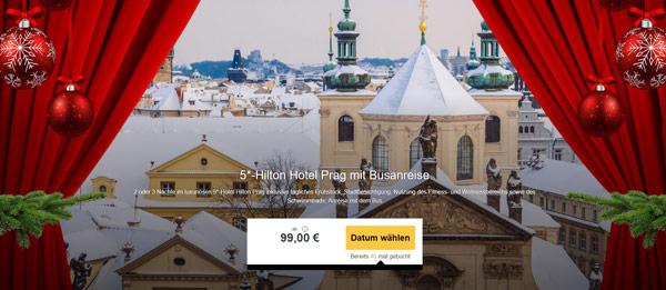 Prag Städtereise Bus