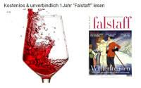 Zeitschrift Falstaff kostenlos