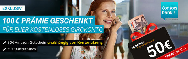 Consorsbank Girokonto eröffnen