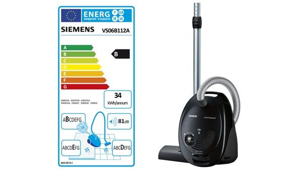 Siemens Bodenstaubsauger VS06B112A