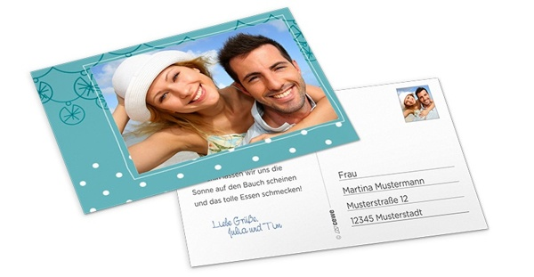 Kostenlose Postkarte DM