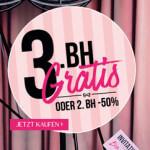 Hunkemöller Bra Party: Jeder 3. BH Gratis!
