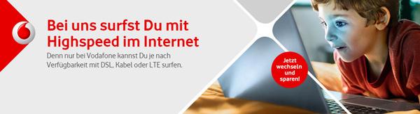 Vodafone Internet & Phone DSL Tarif