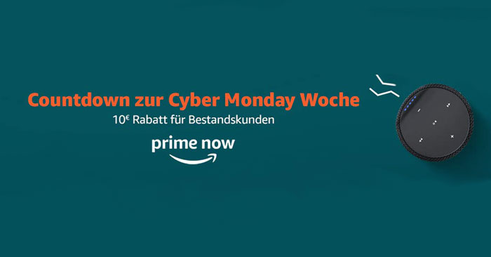 Amazon Prime Now Gutschein