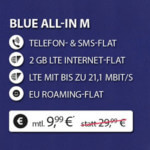 Base Blue All-in M Handyvertrag