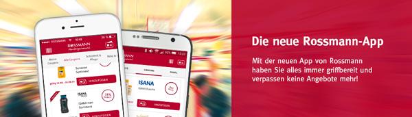 Rossmann Gutschein App