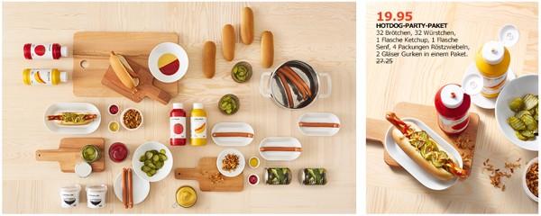 Ikea Hot Dog Party Paket