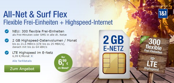 1&1 All-net & Surf Special