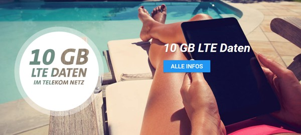 Telekom 10GB LTE Datenflat