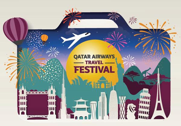 Qatar Airways Travel Festival