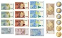 Euro Spielgeld Set
