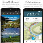 Kostenlose Karten für Komoot Fahrrad & Wander GPS App!