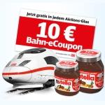 Deutsche Bahn Nutella Aktion