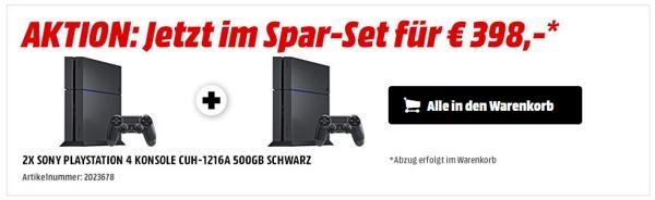Playstation 4 2er Pack Media Markt