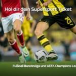 Sky Monatsticket Sport für 14,99€ (monatlich kündbar) – Bundesliga & mehr!