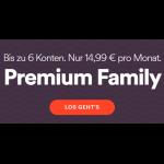 Spotify Premium Familienabo