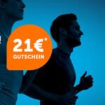 21run Sale mit bis zu 40% Rabatt + 21€ Gutschein (ab 130€ MBW)