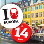 Bahn Sparpreis Europa Angebot: Aus Deutschland in viele europäische Metropolen ab 14€