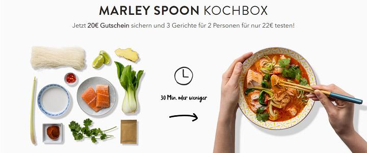 Marley Spoon Gutschein