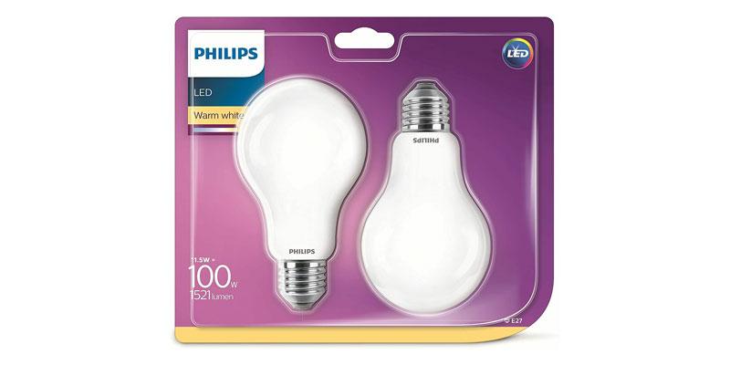 4x Philips LED Lampe