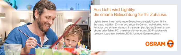 OSRAM Lightify Smart Home Produkte
